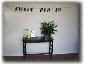 pea Sweet Pea 3D in Concord, NC