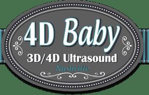 logo Nashville 4D Baby - 3D 4D Elective Ultrasound - Nashville, TN